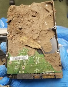 Hard drive found in the Santa Barbara Montecito debris flow